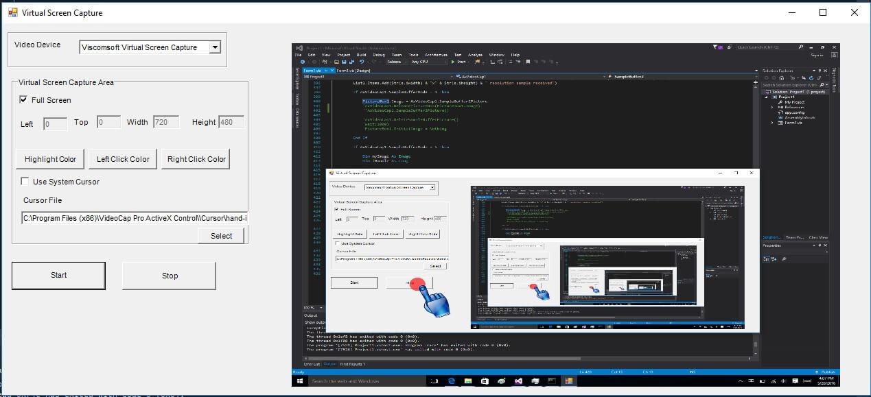 VideoCap Pro SDK ActiveX screenshot