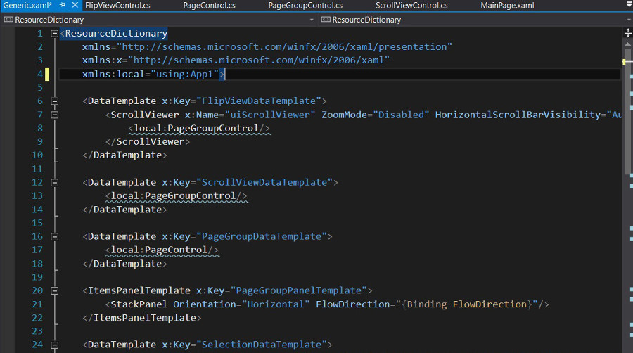 How to use C# display PDF file in UWP app?