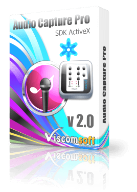 Audio Capture Pro SDK ActiveX