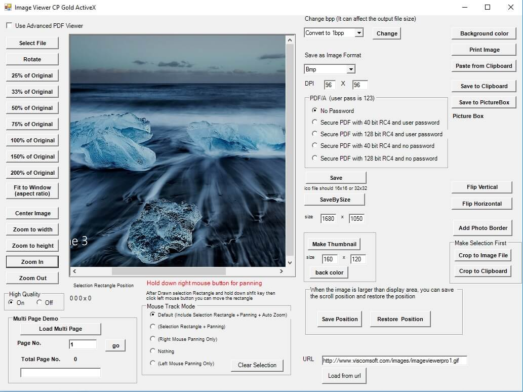 VISCOM Image Viewer CP Gold SDK ActiveX Screen shot