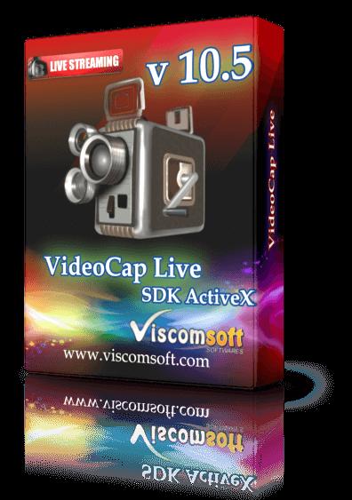 VideoCap Live Streaming SDK ActiveX