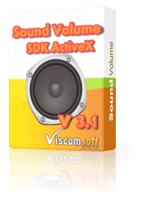 Sound Volume SDK ActiveX