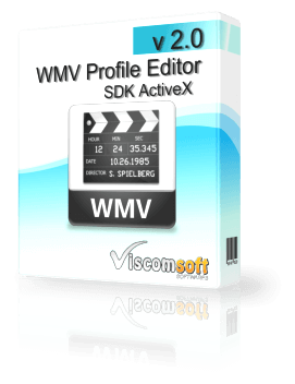 WMV Profile Editor SDK ActiveX