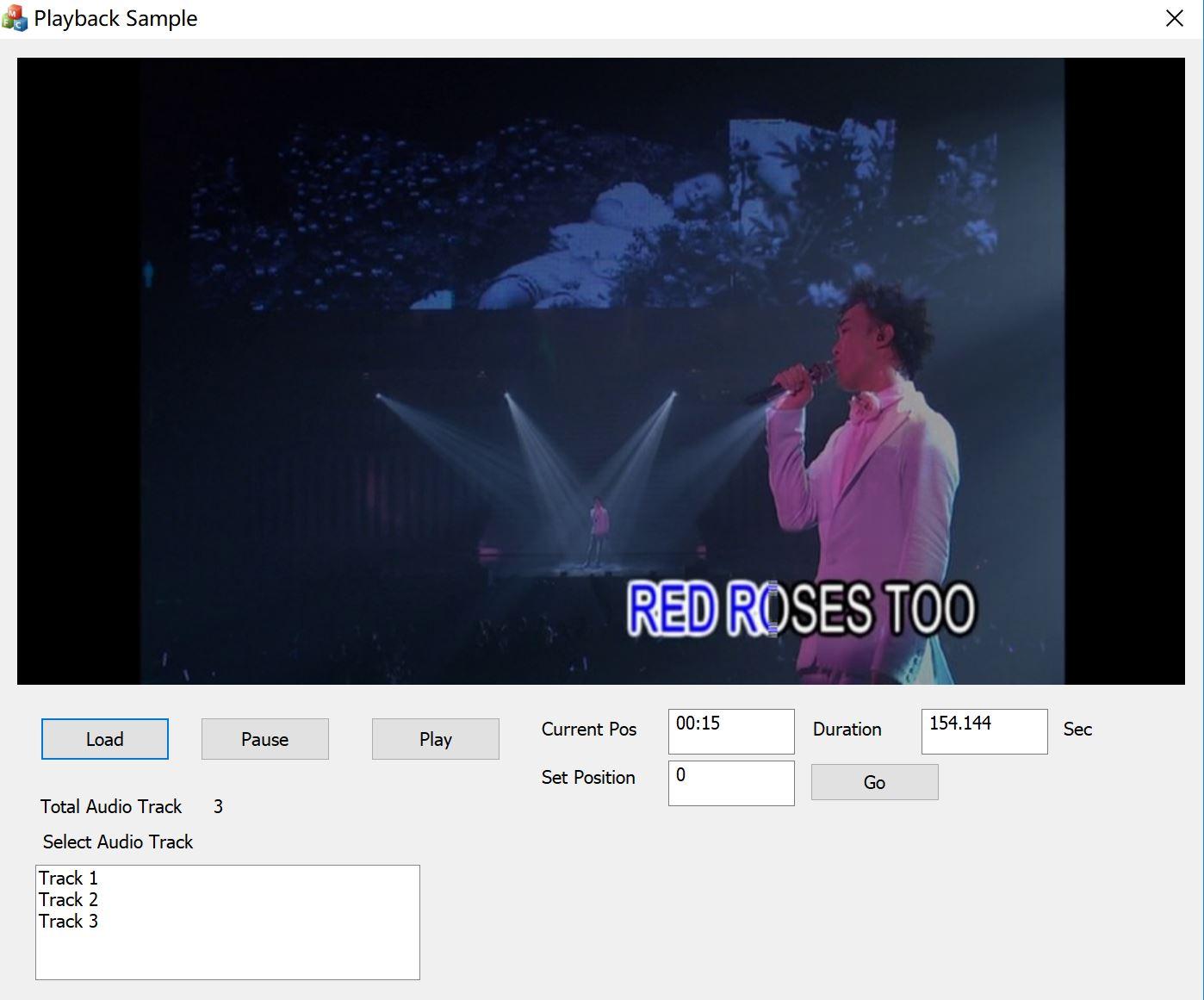 All-in-one Decoder Directshow filter SDK full screenshot