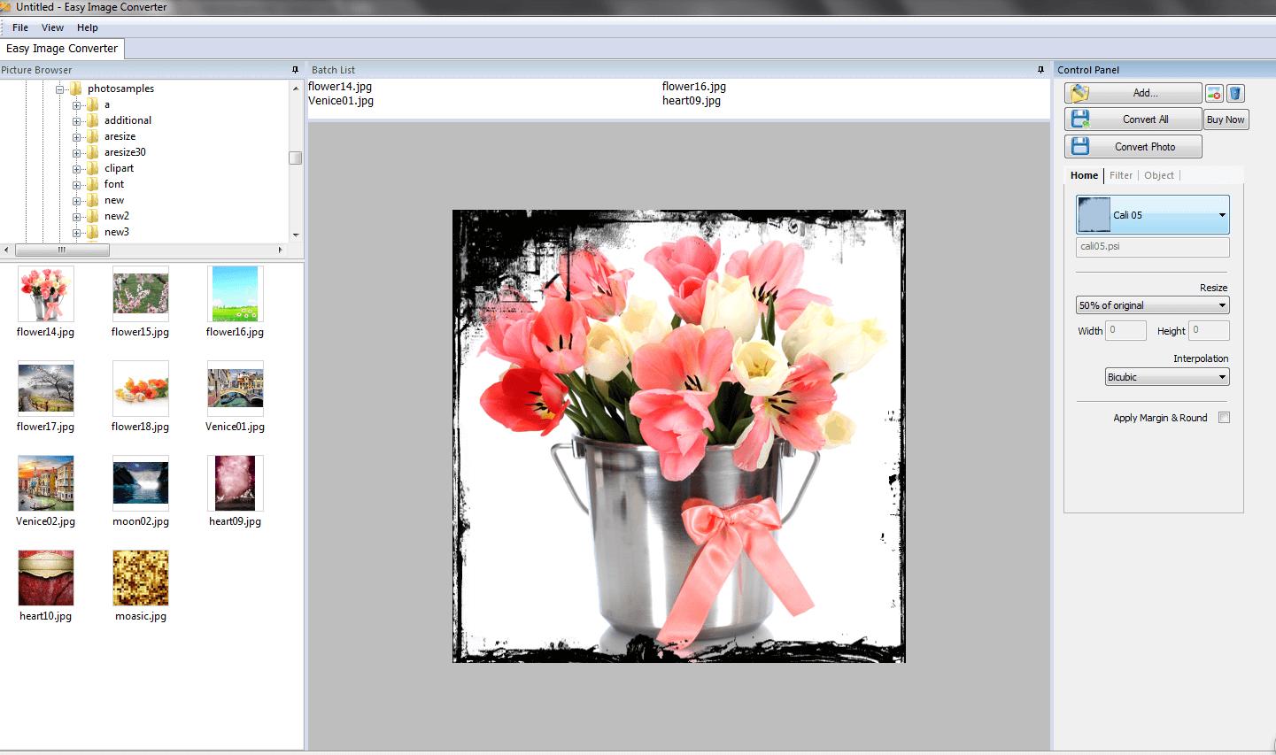 Windows 7 VISCOM Easy Image Converter 3.0 full
