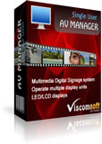 AV Manager Digital Signage Single Version 8.0