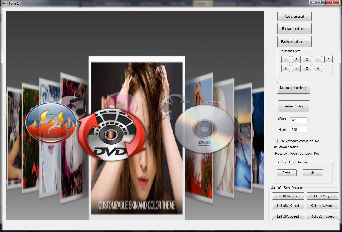 VISCOM 3D Carousel SDK ActiveX full screenshot